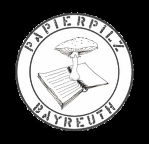 Das Papierpilz-Logo. Klick für die Facebookseite!