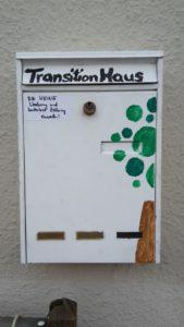 Unser neue Briefkasten in der Ludwigstr. 24